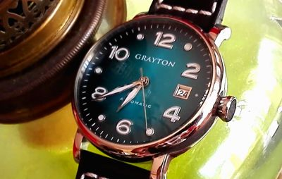 Test:  montre automatique Grayton