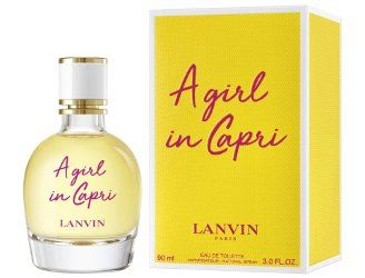 Lanvin A Girl in Capri ~ new fragrance