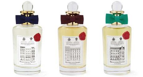 Penhaligon's Belgravia Chypre, Kensington Amber & Marylebone Wood ~ new fragrances