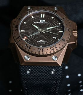 La Montre du jour: Linde Werdelin 3 Timer Chocolate GMT