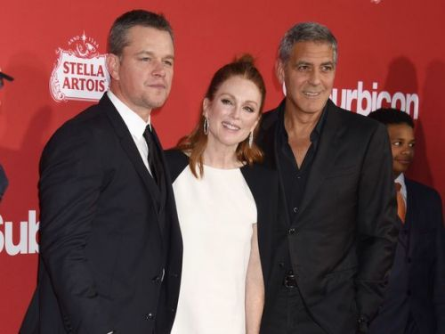 Affaire Harvey Weinstein:  Matt Damon et George Clooney réagissent