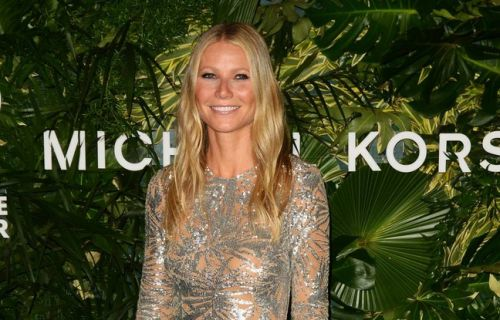 Gwyneth Paltrow a célébré ses fiançailles au Los Angeles Theater
