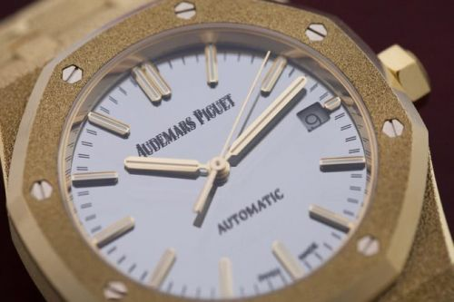 La Royal Oak Frosted Gold d'Audemars Piguet revisitée