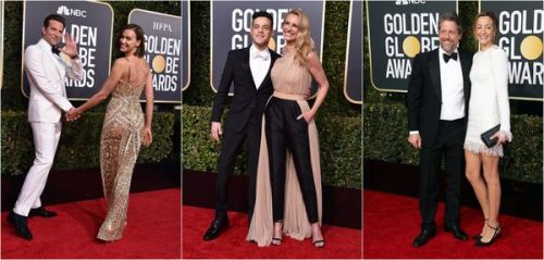 Photos:  16 couples qui ont illuminé le tapis rouge des Golden Globes 2019