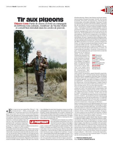 Thierry Coste  Liberation