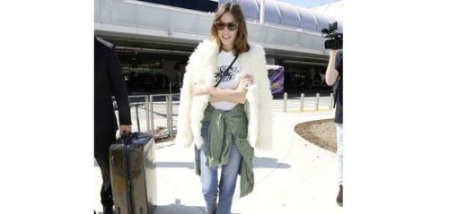 Alexa Chung:  on copie son look furry grunge