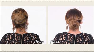 Comment réaliser un chignon glamour super facilement