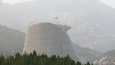 Amazing Flying Monks Theatre in Song Moutain