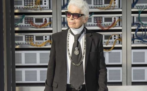 Karl Lagerfeld:  13 moments de franchise