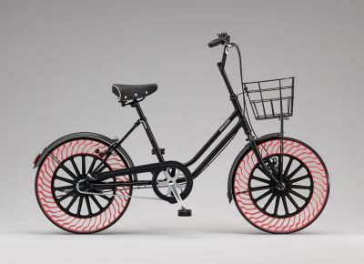 Clever Bicycle with Air Free Tires