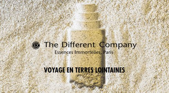 THE DIFFERENT COMPANY:  Voyages en terres lointaines