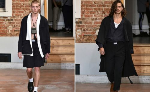 LGN, Louis Gabriel Nouchi - The golden Pavilion:  Fashion Week Paris Homme printemps-été 2019