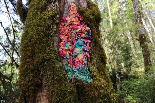 Art Installation to Draw Attention on Nature