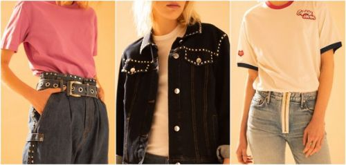 "Tommy Jeans, Laurence Bras, Levi's. le jean respire le ""teen spirit"""