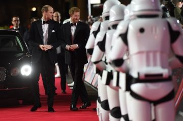 Harry et William, des princes parmi les Jedi