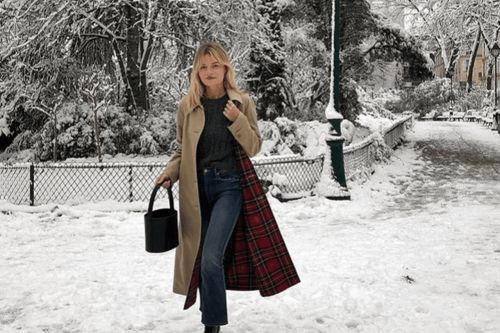 Comment s'habiller quand il neige ? 20 looks inspirants