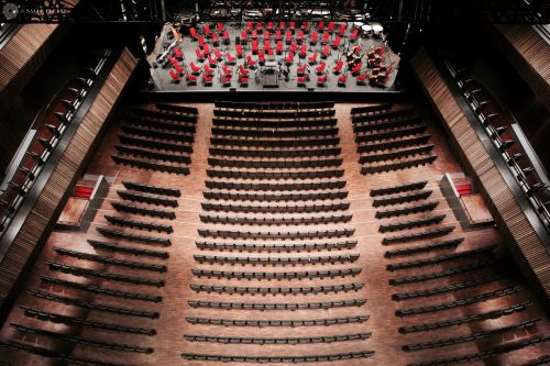 Marvelous Architecture of the Salle Pleyel in Paris